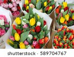 Tulips At The Flowers Wholesal...