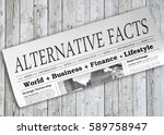 alternative facts newspaper on