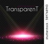 pink scene illumination.... | Shutterstock .eps vector #589768943