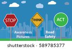 awareness photo vector... | Shutterstock .eps vector #589785377