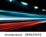vector simulation of night... | Shutterstock .eps vector #589829693