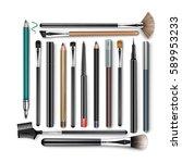 vector set of professional... | Shutterstock .eps vector #589953233