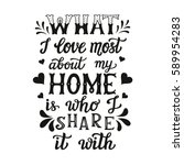 hand lettering typography... | Shutterstock .eps vector #589954283
