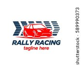 car racing logo template  ...   Shutterstock .eps vector #589990373