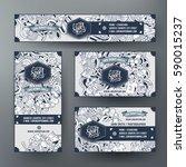 corporate identity vector...   Shutterstock .eps vector #590015237