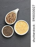 Tricolor Quinoa  Expanded Whit...