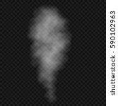 fog or smoke isolated... | Shutterstock .eps vector #590102963