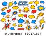 vector illustration of sticker... | Shutterstock .eps vector #590171837