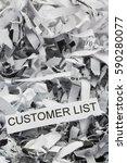 Shredded Paper Customer List