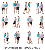 "collection ""back view of going ... 