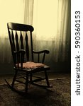 rocking chair | Shutterstock . vector #590360153