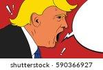 01 mar  2017  president of... | Shutterstock .eps vector #590366927