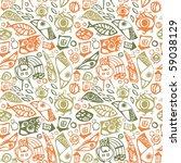 abstract seamless pattern. | Shutterstock . vector #59038129