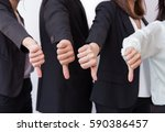 group of business man show... | Shutterstock . vector #590386457