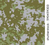 camouflage pattern background... | Shutterstock .eps vector #590459303