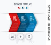 business infographics template... | Shutterstock .eps vector #590461103