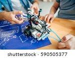 professional engineers... | Shutterstock . vector #590505377