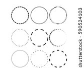 set circle | Shutterstock .eps vector #590524103