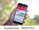 chiang mai thailand   march 1 ... | Shutterstock . vector #590527517
