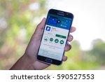 chiang mai thailand   march 1 ... | Shutterstock . vector #590527553