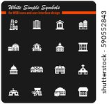 infrastructure vector icons for ...   Shutterstock .eps vector #590552843