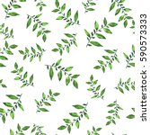 seamless pattern with fresh... | Shutterstock . vector #590573333
