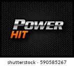 gun made by words | Shutterstock .eps vector #590585267