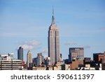 new york city  ny   oct 29 ... | Shutterstock . vector #590611397