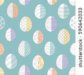 vector illustration  seamless...   Shutterstock .eps vector #590642033