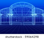 3d sketch of office building | Shutterstock . vector #59064298