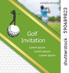 Golf Tournament Invitation...