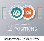 circles diagram  data elements... | Shutterstock .eps vector #590710997