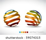 Collection Of Abstract Spheres...
