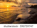 the sun begins to lift over the ...   Shutterstock . vector #590759747