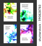 abstract glowing background.... | Shutterstock .eps vector #590828783