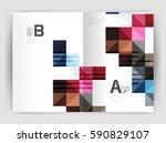 vector square template... | Shutterstock .eps vector #590829107