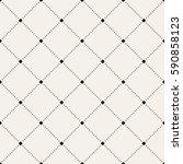 vector seamless pattern. modern ... | Shutterstock .eps vector #590858123