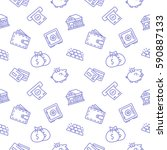 Finance Seamless Pattern...