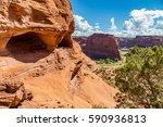 the canyon de chelly national... | Shutterstock . vector #590936813