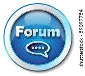 forum icon | Shutterstock . vector #59097754