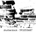brick wall grunge urban... | Shutterstock .eps vector #591053687