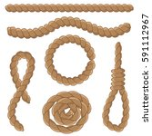 Abstract Rope Elements Set....