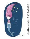 Beautiful Little Mermaid. Sire...
