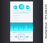mobile application interface  ...   Shutterstock .eps vector #591186143