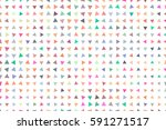 colored triangle pattern for... | Shutterstock . vector #591271517
