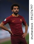 Small photo of 1.03.2017. Stadio Olimpico, Rome, Italy. Italy TIM CUP Football. Lazio vs Roma. Salah in action during the match.