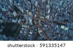 sao paulo city at night | Shutterstock . vector #591335147