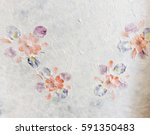 mulberry paper texture with... | Shutterstock . vector #591350483