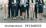 group of businessman and... | Shutterstock . vector #591368033