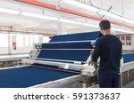 equipment for the preparation... | Shutterstock . vector #591373637